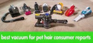 best vacuum for pet hair consumer reports